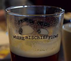 Where Mischief Flows... (Keith Mac Uidhir  (Thanks for 3.5m views)) Tags: ireland dublin cute beer glass bar eyes pub drink irland dublino stout irlanda irlande ierland irska dubln irlandia lirlanda irsko  airija irlanti  cng  iirimaa ha     rorszg         rlnd