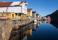 Nyksund fishing village (harald.bohn) Tags: norway reflections norge vesterlen nyksund speiling