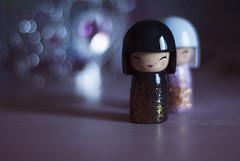 #Hidden (Tove Paqualin) Tags: doll flickr dolls dof bokeh hidden friday kokeshi