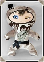 Custom Ninja doll (Nice Threads) Tags: stuffedtoy ninja stuffedanimal custom ninjas camoflage personalized camoninja ninjadoll