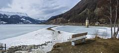 Resia 2016 (Luca Marchesoni) Tags: panorama lake snow ice zeiss lago sony filter panoramica neve alpha polarized inverno ghiaccio filtro nex resia polarizzatore iperfocale sel1635z