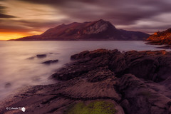 New Day (Caramad) Tags: light sea seascape luz marina sunrise mar agua rocks wave playa amanecer monte olas rocas cantabria wate marcantbrico sonabia cerredo montelandscape