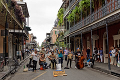 Muzycy na ulicach French Quarter | Musicians on the streets of French Quarter