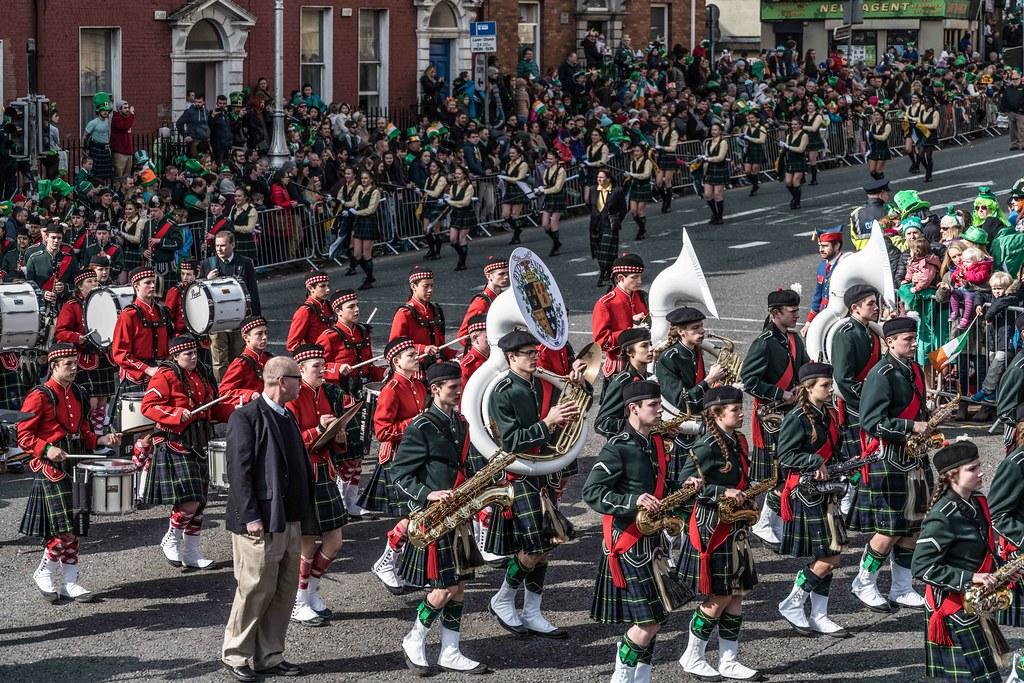 SHORECREST HIGH SCHOOL [ST. PATRICK'S PARADE IN DUBLIN 2016]-112274