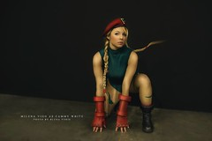 Cammy White-Street Fighter (milenavigo) Tags: street game fighter cosplay videogame cosplayer cammy streetfighter capcom cammywhite milenavigo morriganlynx