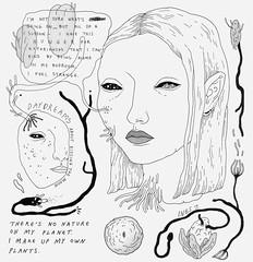 restless creature (art-creature) Tags: moleskine illustration pen ink drawing sketchbook brushpen fineliner