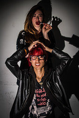 Femme Fatale 1 (niikofilmmaker) Tags: boy girl chica femme bad fatale profesora mala malas estudiante iluminacin enseanzas