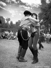 (Roberto Suarez DLG) Tags: blancoynegro argentina blackwhite dance fiesta folk folklore popular baile pampa ranchera tradicin tpico campero