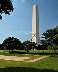 Obelisco do Ibirapuera (Rafael Schaidhauer) Tags: parque arquitetura brasil do ar monumento natureza ibirapuera ao paulo obelisco livre so greatphotographers nikonflickraward