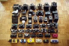 film (La fille renne) Tags: film home analog 35mm kodak minoltax700 indoor collection cameras cameraporn 50mmf2 kodakcolorplus200 lafillerenne