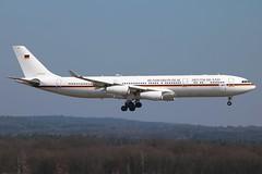Germany Air Force - Airbus A340-313X 16-02 @ Cologne-Bonn (Shaun Grist) Tags: germany airport bonn aircraft aviation cologne airline airbus aeroplanes a340 1602 luftwaffe eddk cgn avgeek germanyairforce