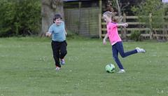Playing football (Nick.Ramsey) Tags: caitlin football child william debden nickramsey canonef70200mmf28lisiiusm eos7dmarkii