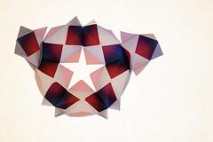 Galaxy (De Rode Olifant) Tags: paper 3d origami galaxy modular paperfolding marjansmeijsters