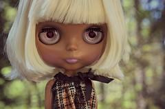 oh my gosh she is sooo fake :P (Lawdeda ❤) Tags: white hair toy doll with dress florida tan fake blythe rement sanibel boca so