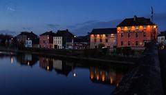 Kilkenny (svg74) Tags: kilkenny ireland night ro river noche town reflex village nocturnal eire reflejo nocturna nocturne irlanda