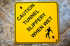 Tunnel Slippery When Wet (Thomas Hawk) Tags: california usa beach unitedstates unitedstatesofamerica newportbeach crystalcove orangecounty crystalcovestatepark slipperywhenwet fav10