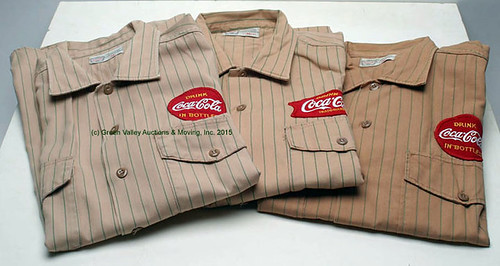 Coke Uniforms -$231.00 (Sold April 24, 2015)