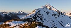 buachaille etive beag (etunar) Tags: winter panorama snow mountains sunrise landscape scotland peak ridge mountaineering summit glencoe winterlandscape goldenlight scottishhighlands buachailleetivebeag visitscotland cloudinversion