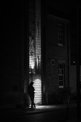 Acros 2/3 (Sir Cam) Tags: cambridge blackandwhite night fujifilm acros cambridgeuniversity darwincollege universityofcambridge sircam camdiary
