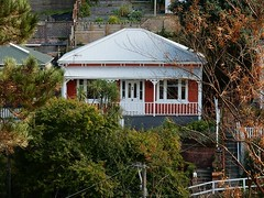 Painted and Cute (mikecogh) Tags: house wooden painted veranda wellington quaint