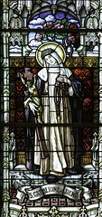 St Catherine of Siena (Lawrence OP) Tags: europe dominican saints stainedglass springfield mystic tertiary catherineofsiena patroness stroses