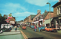 pitlochry 1973 (smallritual) Tags: scotland postcard 1973 pitlochry boringpostcards greenshieldstamps