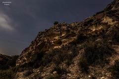 Estrecho de la Arboleja (Mariano_V) Tags: mountain night canon noche rocks long exposure nocturna montaa roca estrecho 6d largaexposicion arboleja
