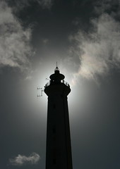 lyngvig fyr (joe.laut) Tags: bw lighthouse blackwhite april sw headlight schwarzweiss fyr leuchtturm unprocessed 2016 hvidesande lyngvig sooc joelaut