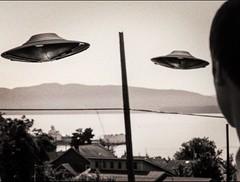UFOs - 12 o'clock (Pennan_Brae) Tags: blackandwhite music blackwhite alien ufo aliens bellingham musicvideo ufos