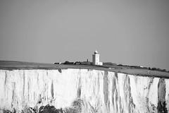Dover 1 April 2016 005 (paul_appleyard) Tags: lighthouse white black saint bay kent south national trust april foreland margarets 2016