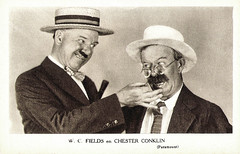 W.C. Fields and Chester Conklin (Truus, Bob & Jan too!) Tags: cinema film vintage movie star kino picture hats cine screen chester wc card american hollywood moviestar fields movies comedian actor paramount conklin filmstar filmster wcfields collectorscard chesterconklin