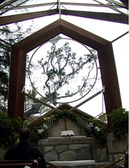 Wayfarers Chapel in Rancho Palos Verdes (wolfkeshart) Tags: ca usa losangeles artphoto wayfarerschapel ranchopalosverdes wolfkesh
