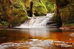 Finnich Glen (Ken J. Fitzpatrick) Tags: scotland waterfall gorge devilspulpit finnichglen glenfinnich