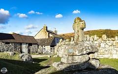 IMG_4559-Pano (Big-Oki Photography) Tags: old uk england sky house church clouds vintage big cross sheep pano cottage visit devon 365 dartmoor oki bigoki
