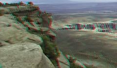 Canyonlands National Park (Redbeard Math Pirate) Tags: nationalpark stereoscopic 3d anaglyph canyonlandsnationalpark canyonlands redblue