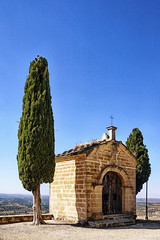 ESPANHA - Ermita de San Cristbal - Calaceite (Infinita Highway!) Tags: trip church de spain highway san espanha europa europe iglesia igreja viagem ermita cristbal infinita calaceite