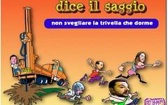 Anche le trivelle hanno un'anima (SatiraItalia) Tags: humor fumetti vignette satira