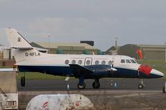 G-NFLA (GH@BHD) Tags: aircraft aviation jetstream bae airliner turboprop cranfield aldergrove britishaerospace bfs j31 cranfielduniversity jetstream31 belfastinternationalairport egaa gnfla cranfieldinstituteoftechnology