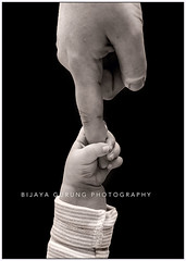 Support (gurungbijaya88) Tags: blackandwhite baby support child mother strength canon6d