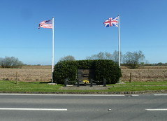 Deenethorpe Airfield Memorial (martyboy2 of Britain) Tags: flying group fortress 401 bombardment airfield deenethorpe