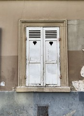 Hearts (Sarah Marston) Tags: paris france hearts vent shutters april iphone 2016 iphone6