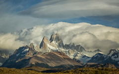 Mount Fitz Roy in Patagonia, Argentina (alicecahill) Tags: patagonia mountain southamerica argentina fitzroy mountfitzroy alicecahill