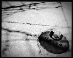 watermeter and trees (karenchristine552) Tags: cameraphone usa philadelphia concrete spring westphiladelphia pennsylvania pa philly westphilly universitycity iphone cedarpark mobilephotography hipstamatic