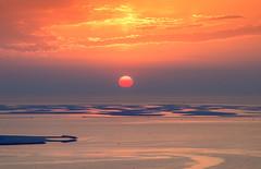 s Apr24_World Sunset_DSC_1542 (Andrew JK Tan) Tags: sunset sun islands dubai manmade theworld 2016