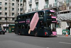 Route 10, London United, LT162, LTZ1162 (Jack Marian) Tags: bus london buses cross hammersmith kings advert kingscross magnum marblearch londonunited route10 nb4l newroutemaster advertbus adbus newbusforlondon borismaster lt162 ltz1162