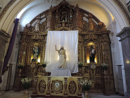 Altar Mayor, Parroquia de Santa Ana Atenantitech, Col. Peralvillo, Cdad. de México, CDMX.