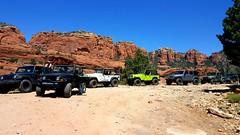 A great time in the desert (Spork Outdoors) Tags: trip travel arizona sky usa mountains southwest fun spring desert offroad jeeps 4x4 sedona roadtrip explore redrock wheelin schneblyhill jeeplife jeepbadgeofhonor