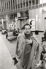 AA003 (heavyasmountains) Tags: nyc newyorkcity blackandwhite slr film 35mm photography nikon candid streetphotography noflash 24mm fm3a filmphotography streetstyle