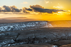 Brecon Beacons Sunset (karlmccarthy1969) Tags: uk sunset sky snow beautiful wales clouds nikon breconbeacons