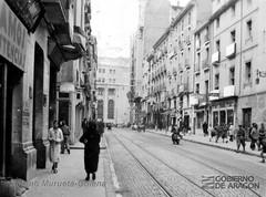 Calle Don Jaime I 1937 (GAZA - Gran Archivo Zaragoza Antigua) Tags: 1937